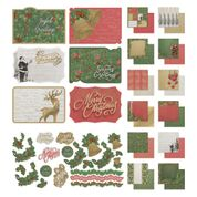 *Pre-Order* Naughty or Nice 12 x 12 Collection Pack (12 Papers, Sticker Sheet and 6 Postcards) | Couture Creations