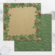 *Pre-Order* Naughty or Nice Double Sided Patterned Papers 10 (5pc) | Couture Creations
