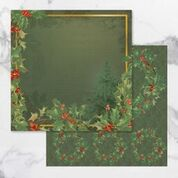 *Pre-Order* Naughty or Nice Double Sided Patterned Papers 1 (5pc) | Couture Creations