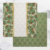 *Pre-Order* Naughty or Nice Double Sided Patterned Papers 6 | Couture Creations