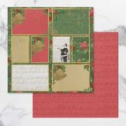 *Pre-Order* Naughty or Nice Double Sided Patterned Papers 12 | Couture Creations