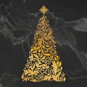 *Pre-Order* Naughty or Nice Ornate Christmas Tree Cut, Foil and Emboss Die (1pc)