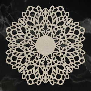 Easter 2019 Chipboard Selection - Spring Doily Chipboard (1pc)