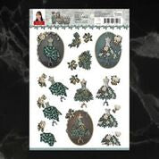 *Pre-Order* Amy Design Christmas Wishes Well Dressed Decoupage A4 Sheet | Couture Creations