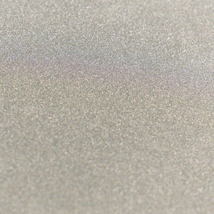A4 Glitter Card 10 sheets per pack 250gsm - Silver | Couture Creations