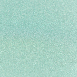 A4 Glitter Card 10 sheets per pack 250gsm - Mint