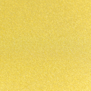 A4 Glitter Card 10 sheets per pack 250gsm - Gold | Couture Creations