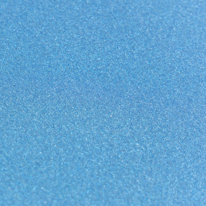 A4 Glitter Card 10 sheets per pack 250gsm - Lagoon Blue | Couture Creations