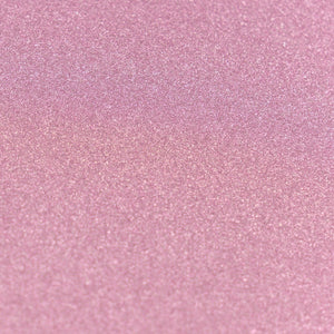A4 Glitter Card 10 sheets per pack 250gsm - Baby Pink | Couture Creations