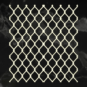 *Pre-Order* Coasterboard Chainlink (1pc) | Couture Creations