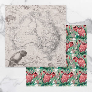 *Pre-Order* Paper - 12 x 12in - Sunburnt Country Sheet 1 (each) | Couture Creations