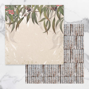 *Pre-Order* Paper - 12 x 12in - Sunburnt Country Sheet 3 (each) | Couture Creations