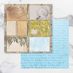 *Pre-Order* Paper - 12 x 12in - Sunburnt Country Sheet 11 (each) | Couture Creations