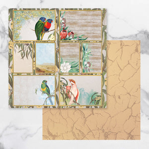 *Pre-Order* Paper - 12 x 12in - Sunburnt Country Sheet 12 (each) | Couture Creations