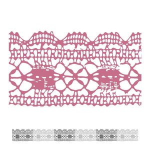 Mini Stamp - Peaceful Peonies - Lacey (1pc)