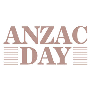 Lest We Forget - Mini Stamp, Anzac Day
