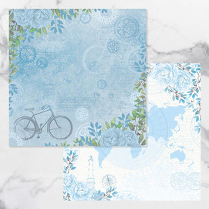 New Adventures - Double Sided Patterned Papers #4