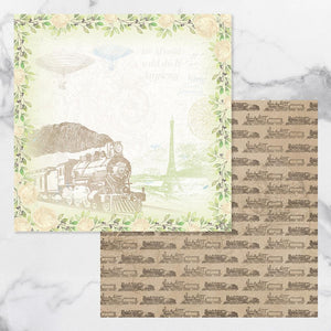 New Adventures - Double Sided Patterned Papers Design #8