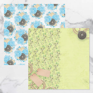 New Adventures - Double Sided Patterned Papers Design #10