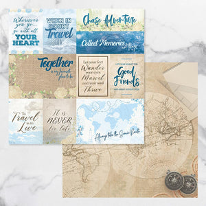 New Adventures - Double Sided Patterned Papers Design #11