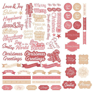 The Gift of Giving Collection - Diecut Sentiments
