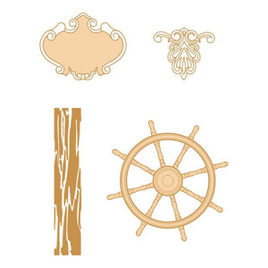 Seaside Girl - Stamp Set, Navigating