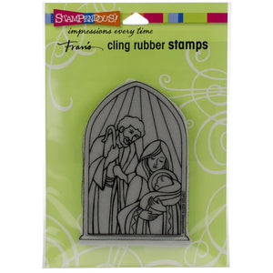 Stampendous Cling Stamp - Holy Nativity