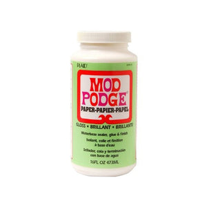 Plaid - Mod Podge - Paper - Gloss (16oz)