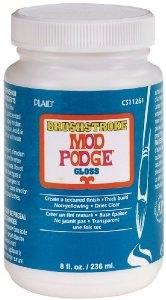 Plaid - Mod Podge - Brushstroke Finish - Gloss (8oz)