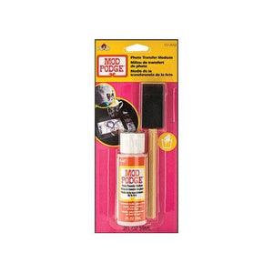 Plaid - Mod Podge - Photo Transfer Medium With Foam Brush (2oz)