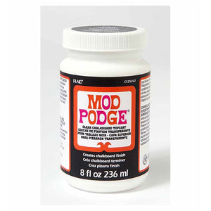 Plaid - Mod Podge - Chalkboard Top Coat - Clear (8oz/236ml)
