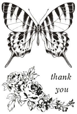 Pen & Ink Clear Stamp