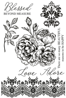 Kaisercraft Rosabella Collection - Clear Stamps | Kaisercraft