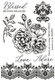 Kaisercraft Rosabella Collection - Clear Stamps