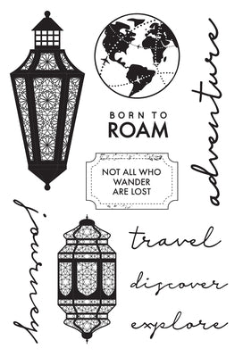 Kaisercraft Journey Collection  - Clear Stamp