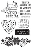 Crafternoon Clear Stamp