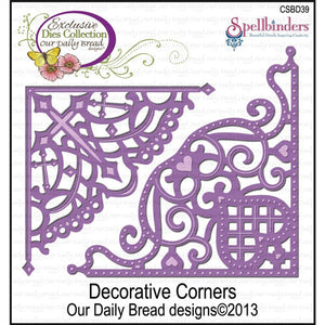 Our Daily Bread Designs - Decorative Corner Dies