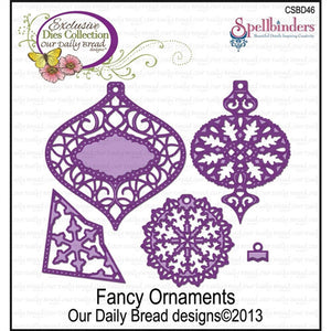 Our Daily Bread - Fancy Ornament