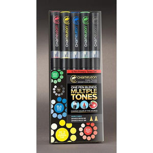Chameleon Alcohol Pen - 5 Pen Set - Primary