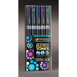 Chameleon Alcohol Pen - 5 Pen Set - Cool