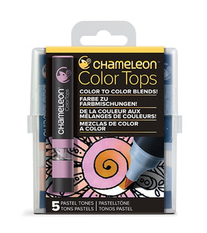 Chameleon Color Tops - 5 Tones Set - Pastel