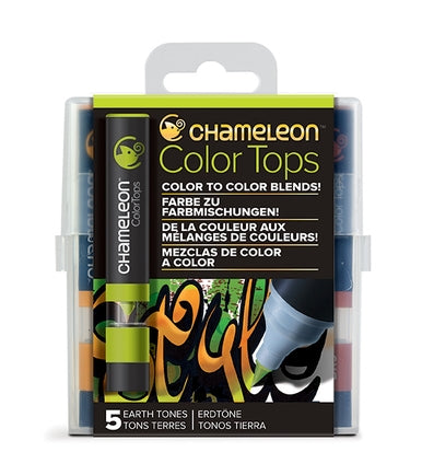 Chameleon Color Tops - 5 Tones Set - Earth