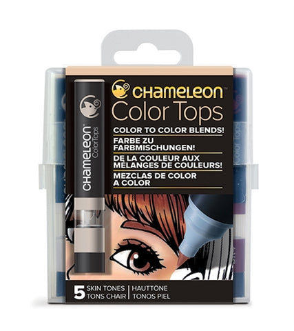 Chameleon Color Tops - 5 Tones Set - Skin Tones