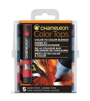 Chameleon Color Tops - 5 Tones Set - Warm Tones