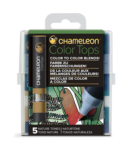Chameleon Color Tops - 5 Tones Set - Nature Tones