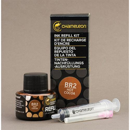 Chameleon Ink Refill 25ml - Hot Cocoa BR2