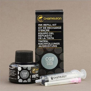 Chameleon Ink Refill 25ml - Cool Grey CG8