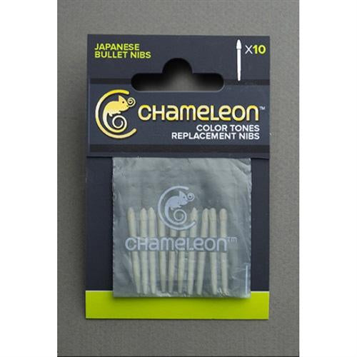 Chameleon Replacement Bullet Tips / Nibs - 10 Pack