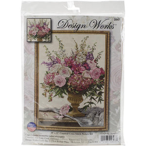 Tobin - Counted Cross Stitch - Symphony Bouquet