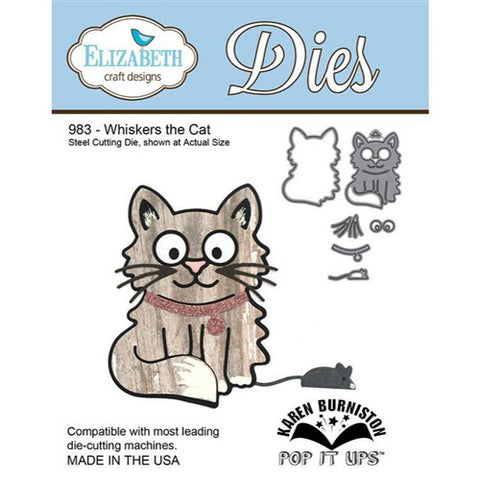 Elizabeth Craft Die - Whisker the Cat